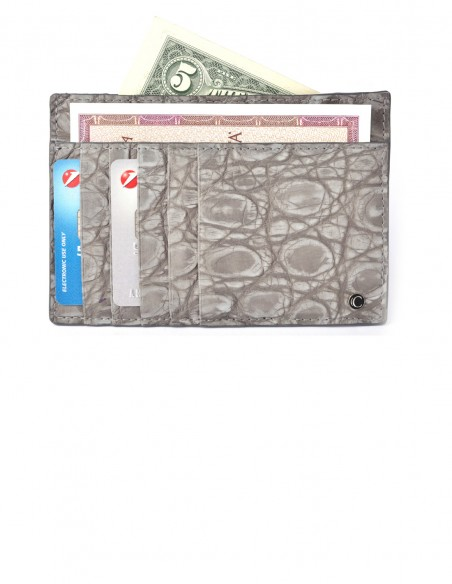 Business Card Holder Nubuck Alligator from your choice