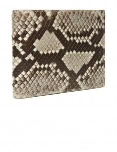 Men's Diamond Python Horizontal Wallet
