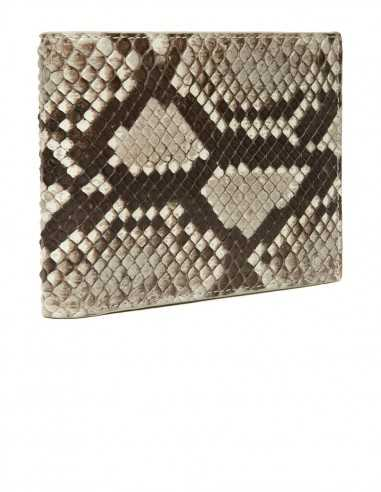 Men's Diamond Python Horizontal Wallet