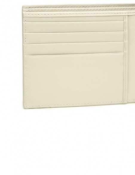 Men's Diamond Python Square Wallet Credit Card Pockets
