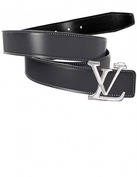 SMOOTH Leather Replacement Belt Strap for LV Buckles