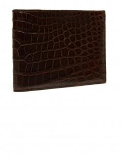 Men's Alligator Bifold Horizontal Wallet