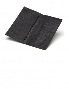 Men's Tuxedo Alligator Belly Long Wallet IN&OUT