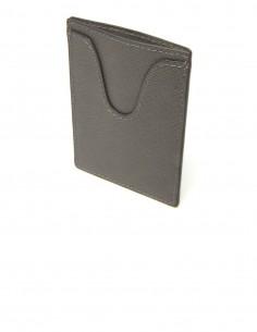 Textured Calfskin Badge Holder and SuperSlim Credit Card Case