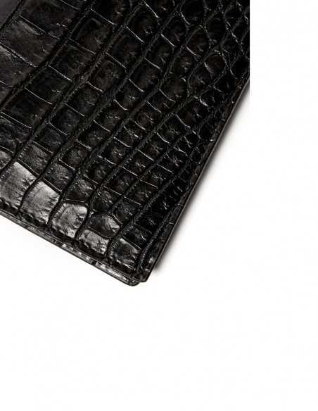 Executive Alligator Men's Vertical Wallet