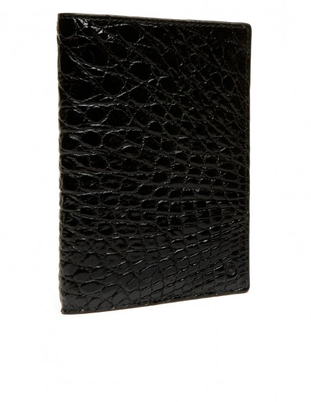 Executive Alligator Passport Holder with 3 Credit Card Pockets
