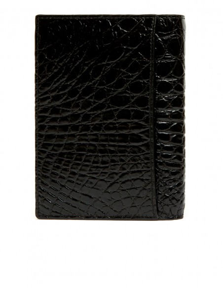 Passport Cover made of Genuine Alligator Skin