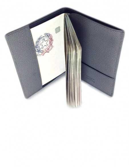 International Calfskin Passport Holder Interior Organization