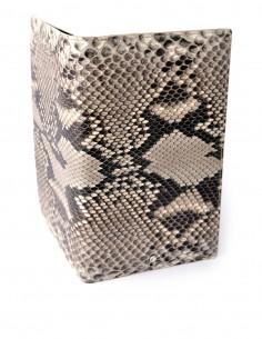 Men's Travel Snake Skin Wallet