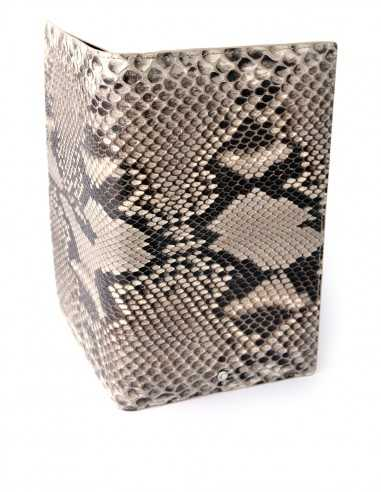Men's Travel Snake Skin Wallet