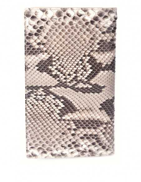 Travel Wallet made of Snake Skin Rock Python