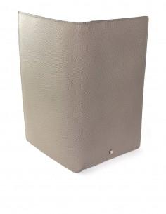 Men's Textured Calfskin Travel Wallet and Business Wallet