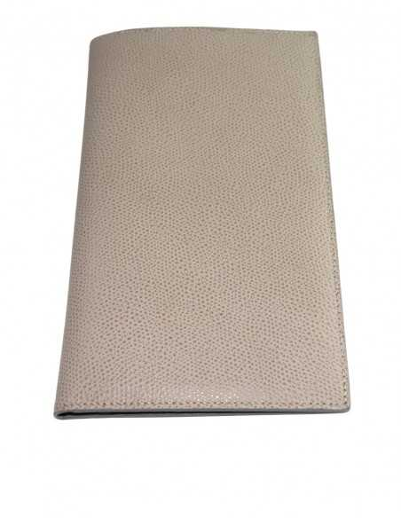 Travel Wallet made of Textured Leather, Color of your choice
