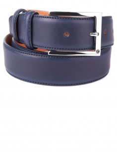 Full Grain Smooth Box Calfskin Classic Men's Belt