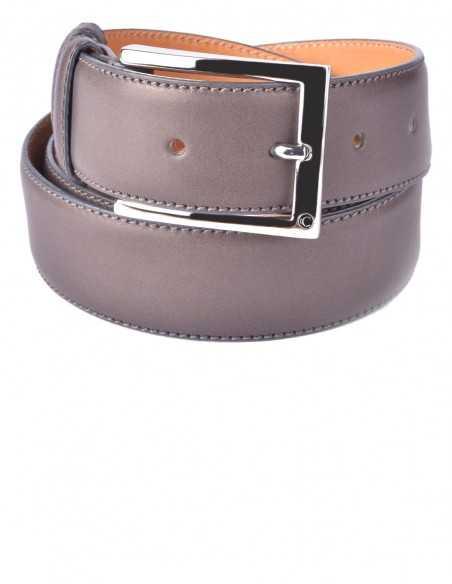 Charcoal Box Calfskin Classic Men's Belt