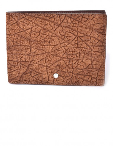 Men's Horizontal Hippopotamus BiFold Wallet