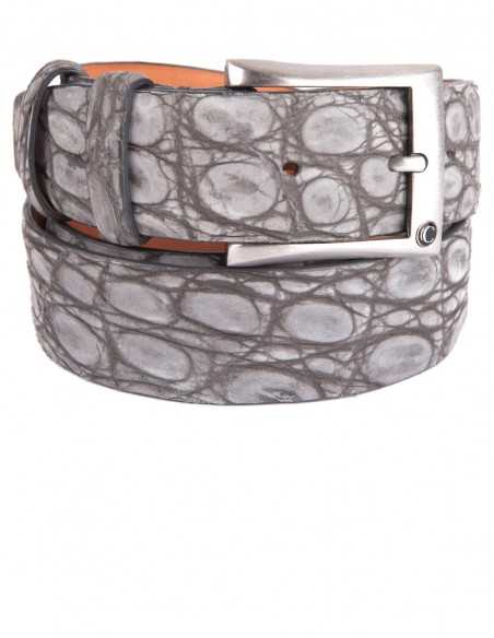 Executive Nubuck Alligator Men's Belt