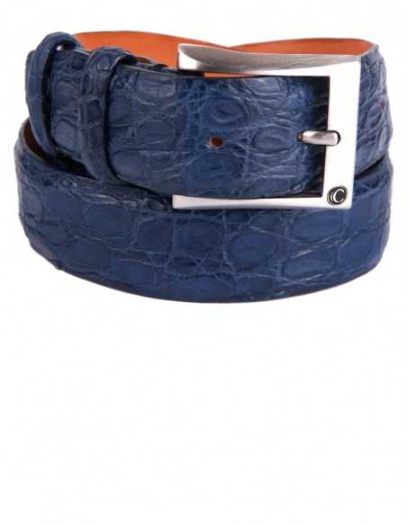 Exotic Matte Alligator Men's Belt for a Perfect Outfit