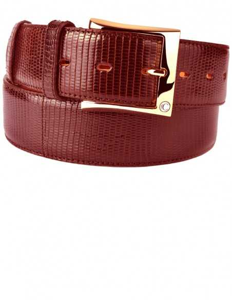 Red Lizard Men's Belt