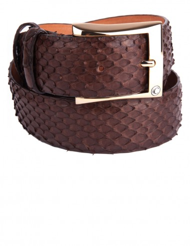 Python Molurus Snake Skin Men's Belt a perfect sportif Belt