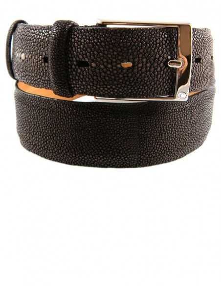 Exotic Stingray Skin Men's Eye Belt for the Most Demanding People