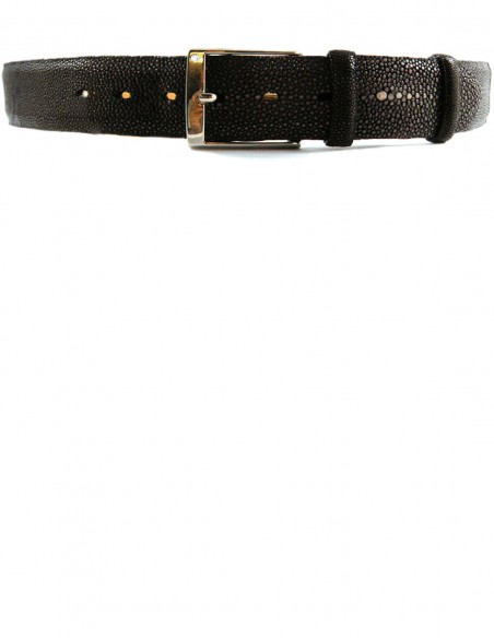 Stingray Men's Belt made of Genuine Asian Shaved Stingray