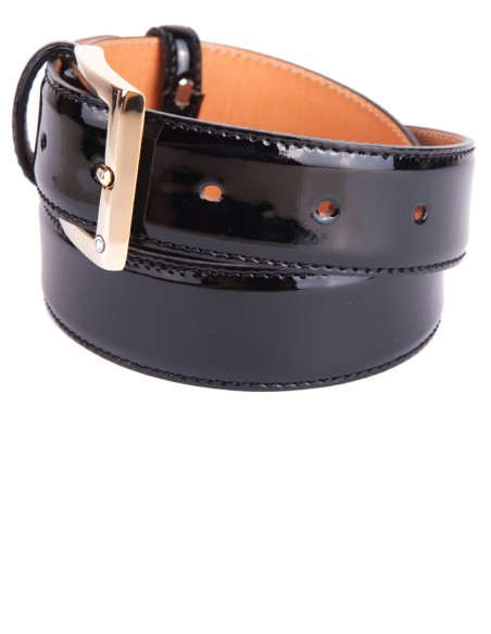 Laquer Belt for Formal Occasions