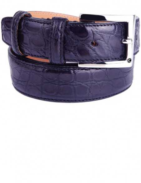 Blue Alligator Formal Men's Belt