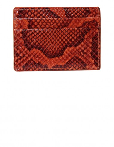 Snakeskin Slim Credit Card Case