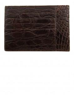 Matte Alligator Smart Credit Card Case