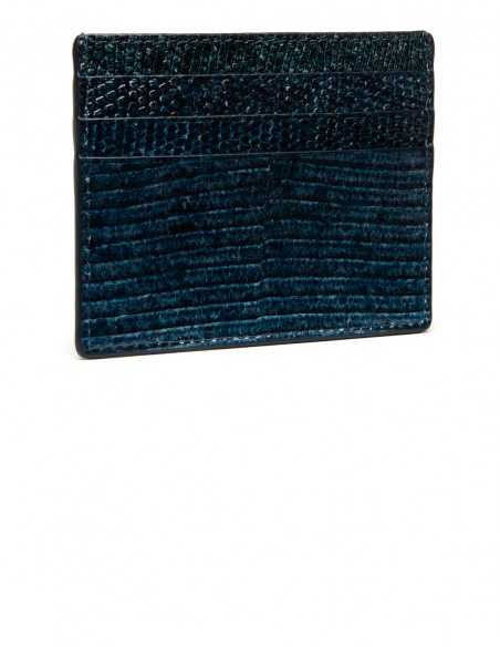 Lizard Slim Card Case / Card Wallet