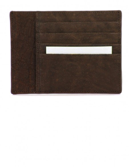 Elephant Leather Smart Credit Card Case