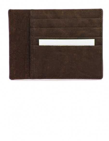 Elephant Leather Smart Credit Card Case