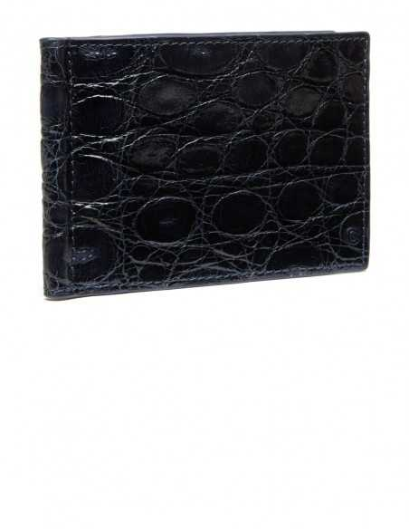 Alligator Flank Money Clip Wallet