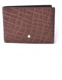 Men's Horizontal Elephant BiFold Wallet