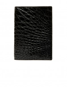Men's Glossy Alligator Vertical Wallet