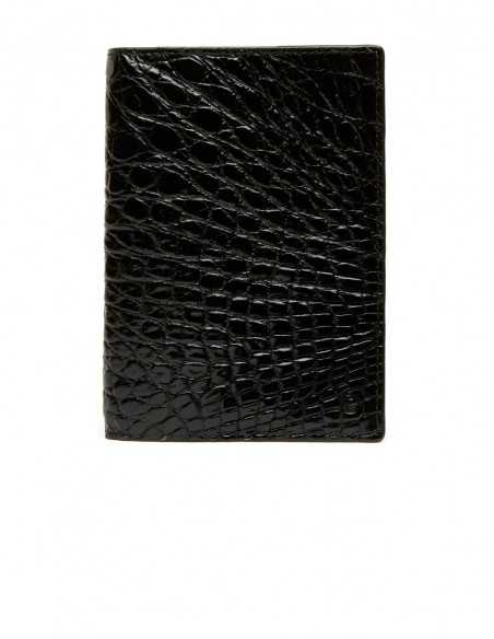 Men's Glossy Alligator Vertical Wallet, One of the Most ...