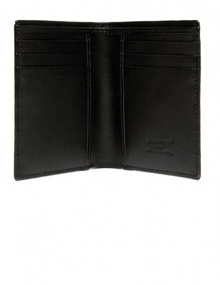 Men's Alligator Vertical Wallet Calfskin Lining