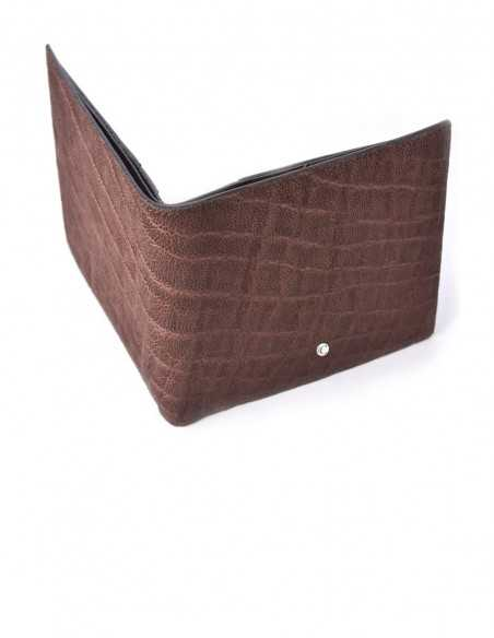 Horizontal Elephant BiFold Wallet for Man