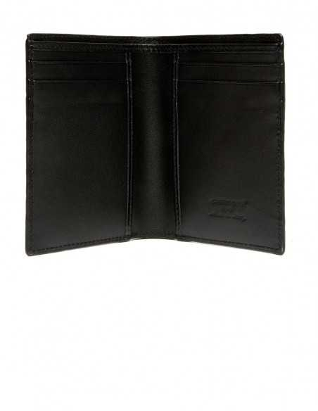 Men's Compact Alligator Wallet Calfskin Lining
