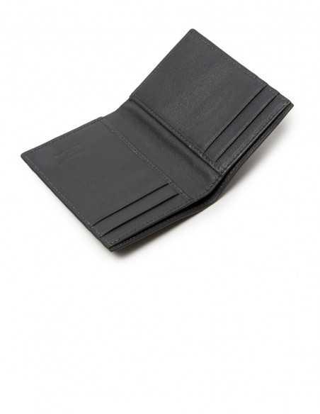 Compact Alligator Wallet Calfskin Lining