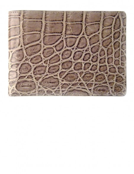 Men's Matte Alligator Bifold Wallet