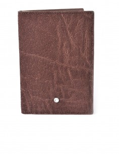 Men's Vertical Elephant BiFold Wallet