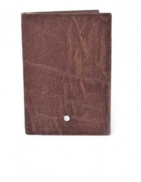 Men's Vertical Elephant BiFold Wallet