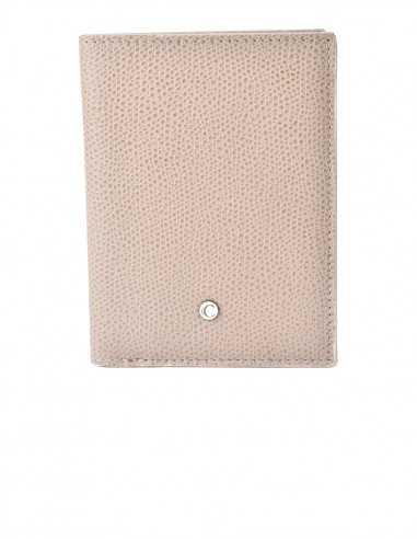 Printed Calfskin Men's Vertical Wallet