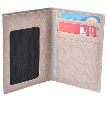 Vertical Bifold Wallet with Clearview Pocket