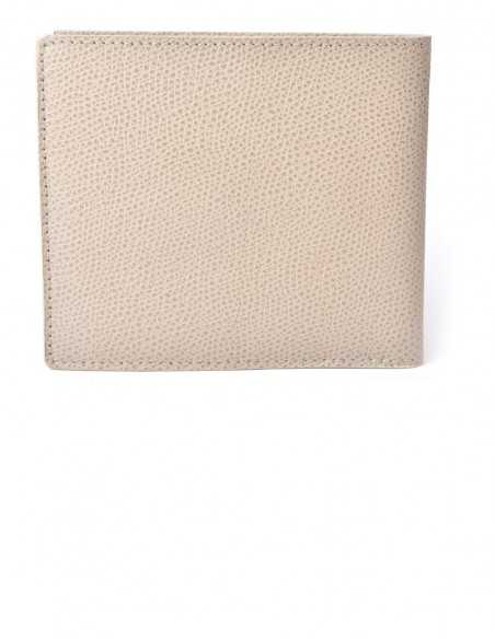 Bifold Square Wallet made of Textured Epsom Calfskin