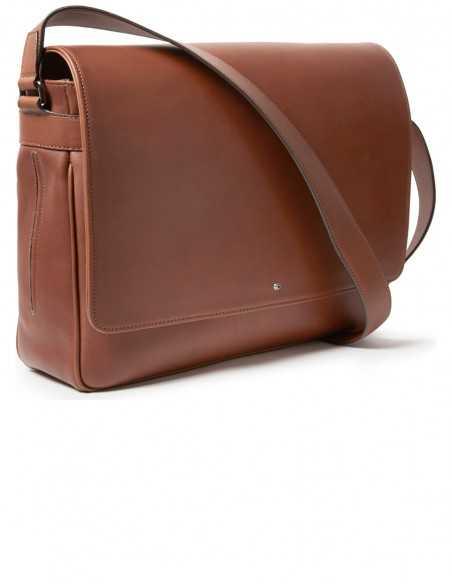 Barenia Smooth Box Calfskin Messenger Bag