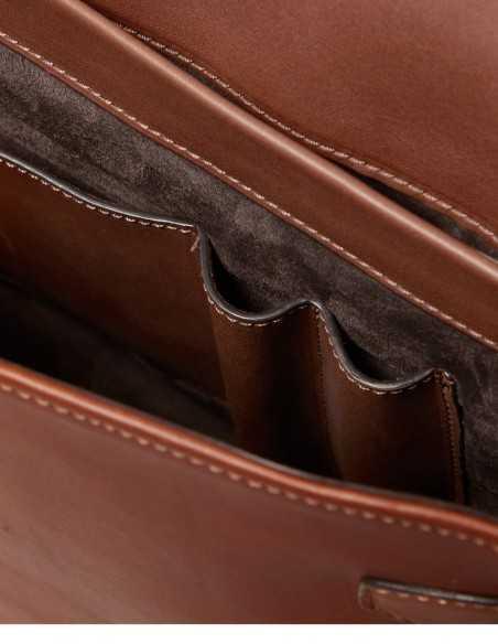 City Style Bag Barenia Calf Interior Layout