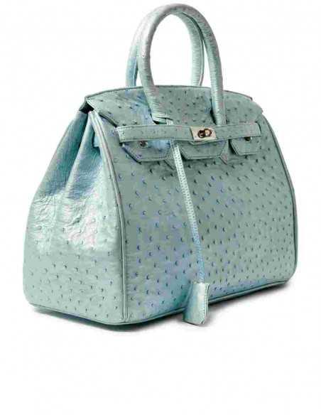 Women's Crossbody Genuine Ostrich Bag
